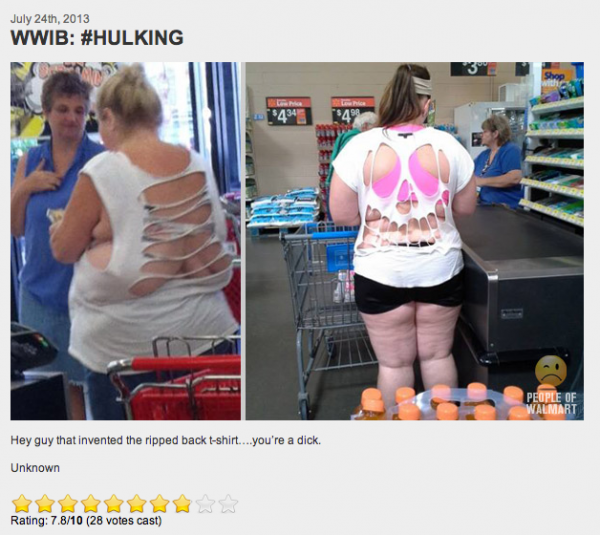 people of walmart Hulking