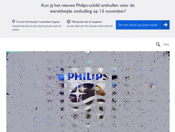 Philips uses Pixel Party